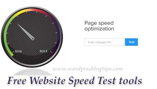 5 Free Website Speed Test tools
