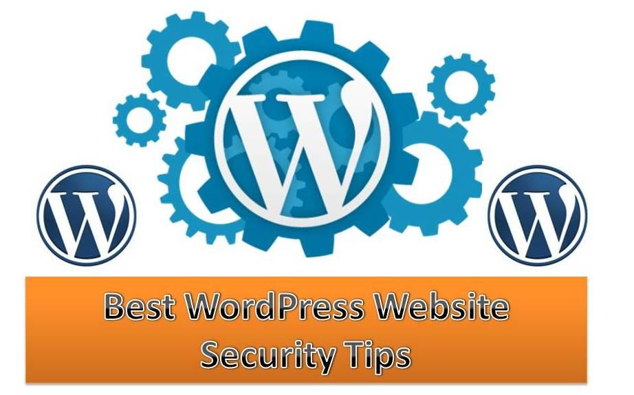 New website security tips